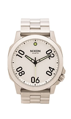 Nixon The Ranger 45 in Silver