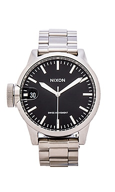Nixon Chronicle 44 in Black
