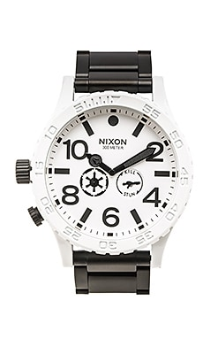 Nixon x Star Wars Stormtrooper 51-30 in Stormtrooper White