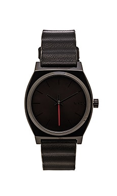 Nixon x Star Wars Darth Vader Time Teller Leather in Vader Black