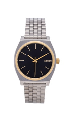Nixon The Time Teller in Gold & Blue Sunray