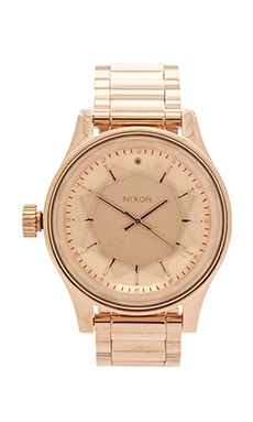 Nixon The Facet in All Rose Gold
