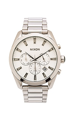 Nixon Bullet Chrono Crystal in All Silver