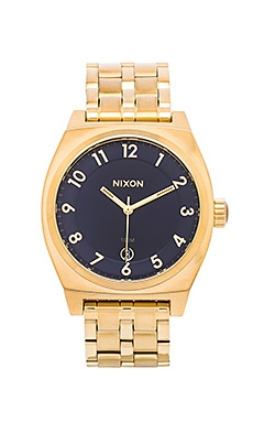 Nixon The Monopoly in All Gold & Navy