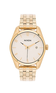 Nixon Bullet in Gold & White