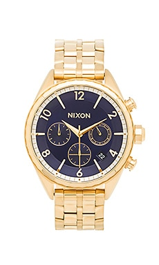 The Minx Chrono in All Gold & Navy