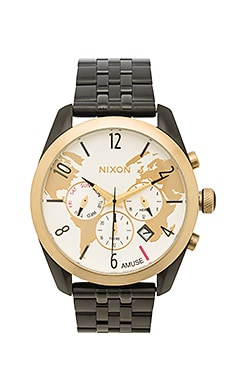 x AMUSE SOCIETY Bullet Chrono in Light Gold & Black