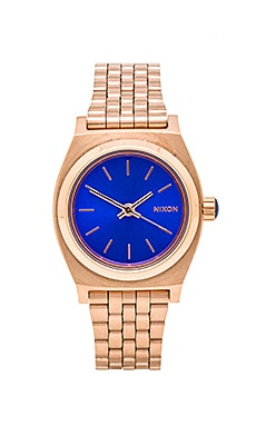 Nixon The Small Time Teller in Rose Gold/ Cobalt