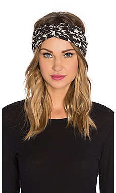 Norma Kamali Turban in Cheetah