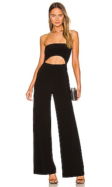 Strapless Cut Out Jumpsuit Norma Kamali $130