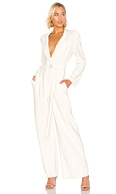 Single Breasted Straight Leg Jumpsuit Norma Kamali $385 BEST SELLER