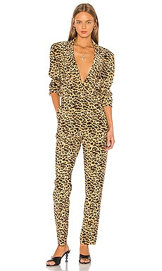 Tapered Leg Jumpsuit Norma Kamali $190