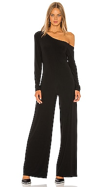 Long Sleeve Drop Shoulder Jumpsuit Norma Kamali $175 MÁS VENDIDO