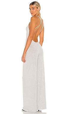 X REVOLVE Low Back Slip Jumpsuit Norma Kamali $165 NEW