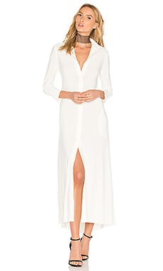Long Swing Dress in Ivory