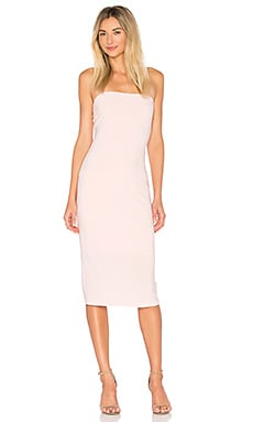 x REVOLVE Strapless Dress in Blush