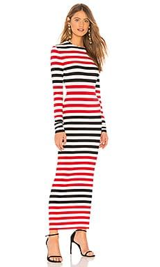 Купить Платье spliced - Norma Kamali красного цвета
