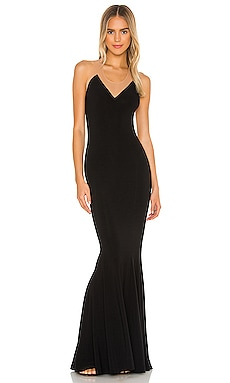 Racer Fishtail Gown Norma Kamali $120