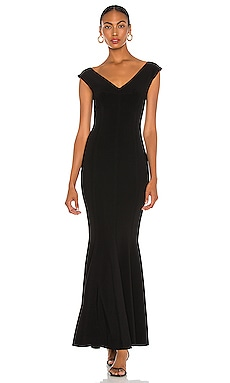 Grace Fishtail Gown Norma Kamali $375