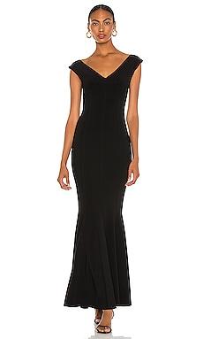 Grace Fishtail Gown Norma Kamali $375 BEST SELLER