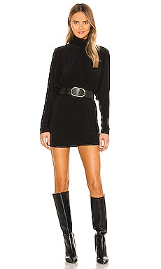 Turtle Dolman Mini Dress Norma Kamali $135 NEW