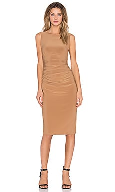 Shirred Bodycon Dress