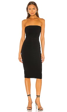 Norma Kamali Strapless Dress in Black | REVOLVE