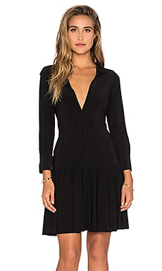 Norma Kamali KAMALIKULTURE Ra Ra Dress in Black