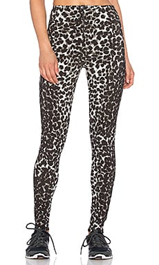 Norma Kamali Legging in Cheetah