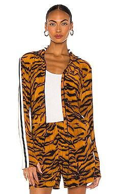 Side Stripe Turtle Jacket Norma Kamali $108