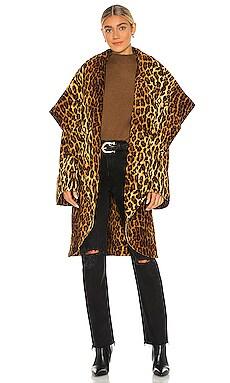 Bonded Shawl Collar Coat Norma Kamali $443