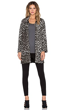 Norma Kamali Men's Trench Coat in Cheetah