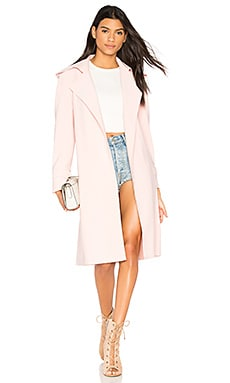 Double Breasted Trench in Blush