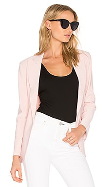 Single Breasted Jacket in Blush