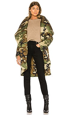 Shawl Collar Coat Norma Kamali $429