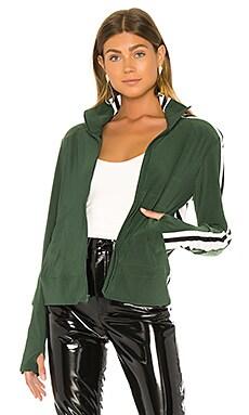 Side Stripe Turtle Jacket Norma Kamali $195