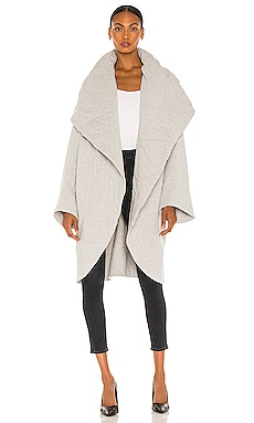 Shawl Collar Coat Norma Kamali $295