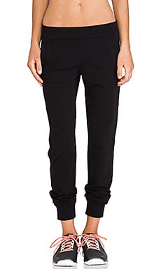 Sweats by Norma Kamali Jog Pants in Black