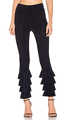 Ruffle Legging in Midnight