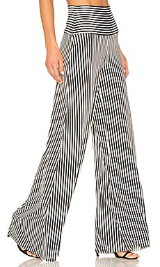 Vertical Stripe Elephant Pant