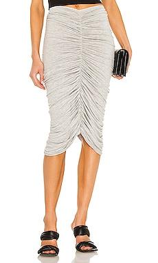 Shirred Skirt Norma Kamali $185
