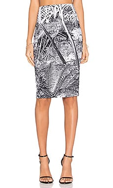 Norma Kamali Pencil Skirt in Jungle