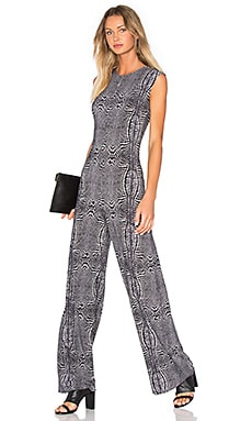 Norma Kamali Sleeveless Jumpsuit in Illusion