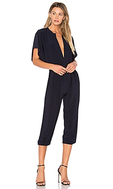 Rectangle Jog Jumpsuit in Midnight