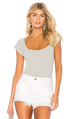 Short Sleeve Bodysuit Norma Kamali $80 BEST SELLER