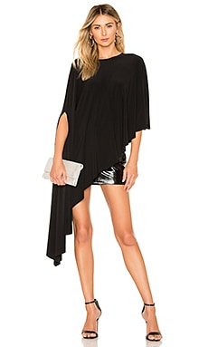 Diagonal Shawl Top Norma Kamali $160