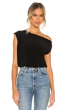X REVOLVE Drop Shoulder Top Norma Kamali $85 BEST SELLER