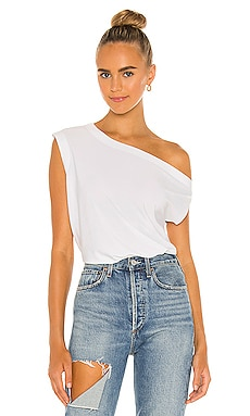 x REVOLVE Drop Shoulder Top Norma Kamali $85