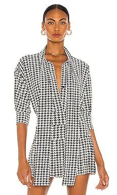 Блузка - Norma Kamali Рубашки на пуговицах фото