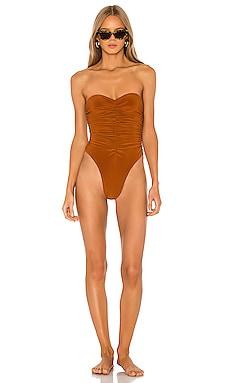 Слитный купальник marissa - Norma Kamali Слитные купальники фото